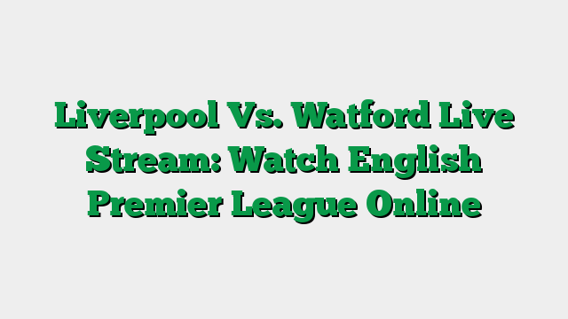 Fixtures / Results / TV Schedules / Live Stream Listings